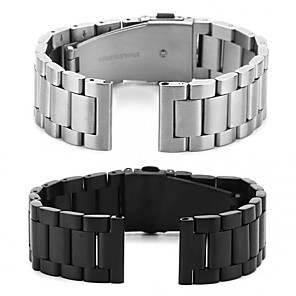 cheap Smartwatch Bands-Watch Band for Samsung Galaxy Active Samsung Galaxy Jewelry Design Stainless Steel Wrist Strap