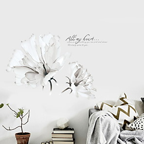 cheap Artificial Plants-Shapes Wall Stickers Plane Wall Stickers Decorative Wall Stickers, PVC Home Decoration Wall Decal Wall Decoration 1pc
