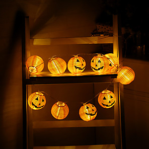cheap LED String Lights-0.75m String Lights 6 LEDs Warm White Decorative Batteries Powered 1pc