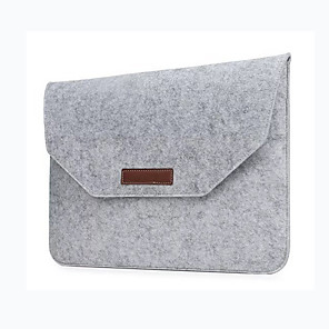 cheap Sleeves,Cases & Covers-Fashion Wool Felt Laptop Sleeve Bag Notebook Handbag Case For Macbook Air Pro Retina 11 13 15 Inch Laptop Liner Bag