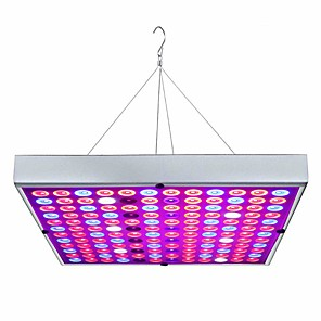 cheap Indoor Wall Lights-Grow Light LED Plant Growing Light LED Grow Light Full Spectrum Plant Flower LED Panel Downlight 45W 144LED AC85-265V Plants Flowers Vegetation