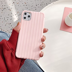 cheap iPhone Cases-Case For Apple iPhone 11 / iPhone 11 Pro / iPhone 11 Pro Max Ultra-thin / Pattern Back Cover Tile / Solid Colored TPU