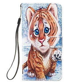 cheap iPhone Cases-Case For Apple iPhone 11 / iPhone 11 Pro / iPhone 11 Pro Max Wallet / Card Holder / Flip Full Body Cases Animal PU Leather
