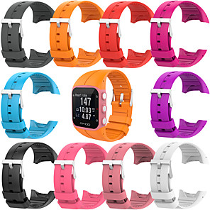 cheap Smartwatch Bands-Soft Silicone Rubber Watch Band Wrist Strap For Polar M400 M430 Fitness Watch