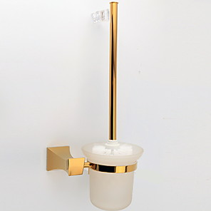 cheap Wall Stickers-Toilet Brush Holder New Design / Cool Modern Stainless Steel 1pc Wall Mounted