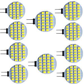 cheap Light Bulbs-10pcs 2.5 W LED Bi-pin Lights 320 lm G4 G5 24 LED Beads SMD 2835 9-30 V