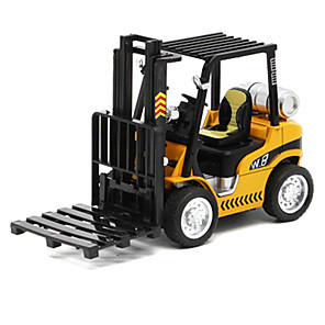 cheap Toy Cars-1:32 Metalic Construction Truck Set Forklift Toy Truck Construction Vehicle Toy Car Pull Back Vehicle Kid's Car Toys