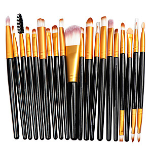 cheap Concealers & Contours-Professional Makeup Brushes 20pcs Soft Full Coverage Plastic for Makeup Brush