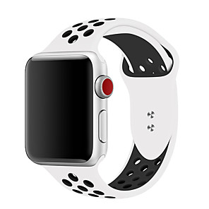 cheap Smartwatch Bands-Watch Band for Apple Watch Series 5/4/3/2/1 Apple Sport Band Silicone Wrist Strap 38mm 40mm 42mm 44mm