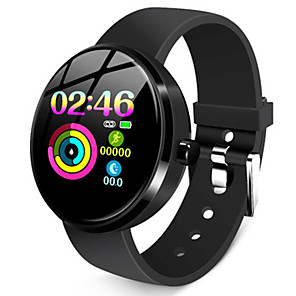 cheap Smartwatches-Women's Smartwatch Digital Stylish Silicone Black 30 m Heart Rate Monitor Bluetooth Smart Digital Fashion - Black One Year Battery Life / Stainless Steel