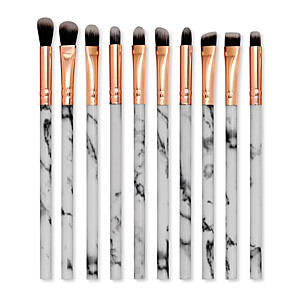 cheap Makeup Brush Sets-Professional Makeup Brushes 10pcs Soft New Design Adorable Comfy Plastic Shell for Makeup Brush