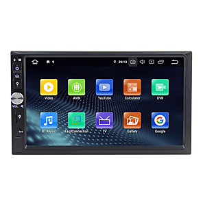 cheap Car DVD Players-WN7092 7 inch 2 DIN Android 9.0 In-Dash Car DVD Player / Car Multimedia Player / Car GPS Navigator / Built-in Bluetooth / RDS / RCA / GPS Support MPEG / AVI / MPG for Universal