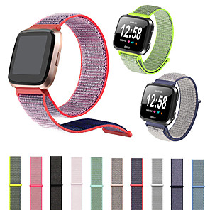 cheap Smartwatch Bands-Watch Band For Fitbit Versa Fitbit Sport Band / Classic Buckle Nylon Wrist Strap Loop Adjustable Fastener Wrist Strap For Fitbit Versa