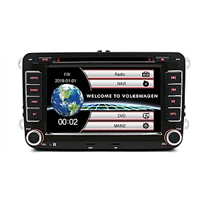 cheap Car DVD Players-JUNSUN 2531 7inch 2DIN Windows CE In-Dash Car DVD Player / Car MP5 Player / Car MP4 Player GPS / MP3 / Built-in Bluetooth for Volkswagen Skoda Seat Yeti Support AVI / WMV / ASF MP3 / WMA