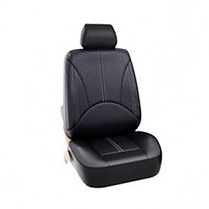 cheap Car Headrests&Waist Cushions-PU Leather Seats Cover for Four Seasons Universal Seats Cover Waterproof Dust-proof