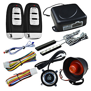 cheap Car Alarms-Car Alarm Safety System Keyless PKE Entry Remote Push Button Start System