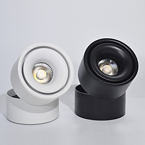 cheap LED Ceiling Light-5W New LED Down Light Nordic Background Wall Absorption Ceiling Flower Spotlights
