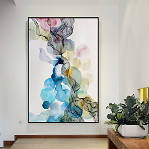 cheap Abstract Paintings-Framed Oil Painting - Still Life Acrylic Oil Painting Wall Art