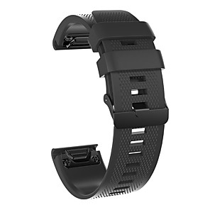 cheap Smartwatch Bands-Watch Band for Fenix 5x / Fenix 5s / Fenix 5 Garmin Sport Band Silicone Wrist Strap