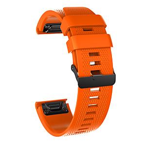 cheap Smartwatch Bands-Watch Band for Fenix 5x / Fenix 5x Plus / Fenix 3 HR Garmin Sport Band Silicone Wrist Strap