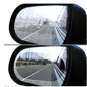 cheap Car Body Decoration & Protection-2pcs car rearview mirror rain film side window film mirror full screen anti-fog nano waterproof film