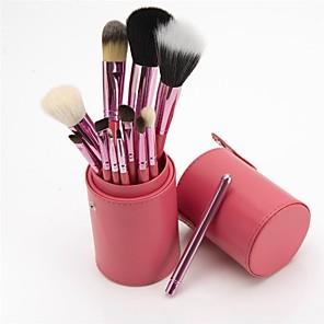 cheap Makeup Brush Sets-Professional Makeup Brushes 12pcs Soft Adorable Comfy Wooden / Bamboo for Makeup Brush