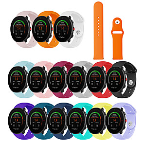 cheap Smartwatch Bands-Soft Silicone Rubber Watch Band Wrist Strap For POLAR Vantage M Watch