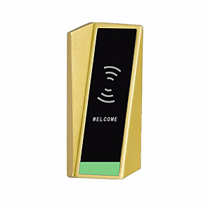 cheap Video Door Phone Systems-Factory OEM PRND-RF601 Zinc Alloy Card Lock Smart Home Security Android System RFID Home / Office / Hotel Others (Unlocking Mode Card)