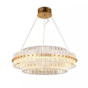 cheap Pendant Lights-1-Light QIHengZhaoMing 60 cm Chandelier Metal Electroplated Traditional / Classic 110-120V / 220-240V