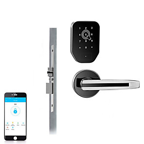 cheap Door Locks-Factory OEM OS168B Zinc Alloy Card Lock Smart Home Security Android System RFID Home / Office / Hotel Wooden Door (Unlocking Mode Card)