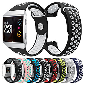 cheap Smartwatch Bands-Sport Silicone Watch Band Wrist Strap for Fitbit Ionic Smart Watch Bracelet Wristband Replaceable Accessories