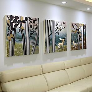 cheap Framed Arts-Framed Set - Still Life Acrylic Oil Painting Wall Art