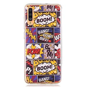 cheap Samsung Case-Case For Samsung Galaxy A40(2019) / Galaxy A50(2019) / A70(2019) Pattern Back Cover Comic TPU for A10(2019) / A20(2019) / A30(2019) / A8(2018) / A7(2018) / A6(2018) / A5(2017) / A3(2017)