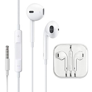 cheap Wired Earbuds-LITBest Wired In-ear Earphone Wired Earbud with Microphone for iPhone