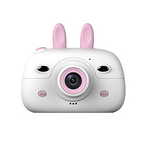 cheap Action Cameras-HD Screen Chargable Digital Mini Camera Kids Cartoon Cute Camera Toys Outdoor Photography Props for Child Birthday Gift