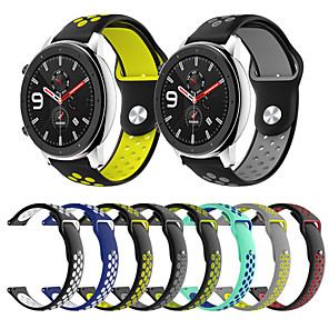 cheap Smartwatch Bands-Silicone Strap Bracelet For Huami Amazfit GTR 42mm / Amazfit GTR 47mm