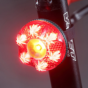 cheap Bike Lights & Reflectors-LED Bike Light Tail Light LED Mountain Bike MTB Bicycle Cycling Waterproof Smart Induction Automatic Brake Induction Quick Release Li-polymer 80 lm Rechargeable Battery Red Cycling / Bike / IPX 6