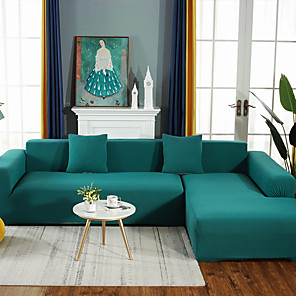 cheap Eyeshadows-Sofa Cover Solid Colored / Contemporary Reactive Print Polyester Slipcovers
