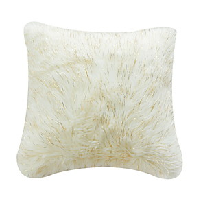 cheap Sale-1 pcs Cotton / Linen Pillow Cover, Solid Colored Square Traditional Classic