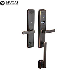 cheap Door Locks-Factory OEM LC109109/AC Zinc Alloy / Aluminium alloy lock / Fingerprint Lock / Intelligent Lock Smart Home Security Android System Fingerprint unlocking / Password unlocking Home / Office / Hotel