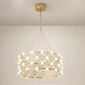 cheap Pendant Lights-48-Light QIHengZhaoMing 60 cm Chandelier Acrylic Electroplated Traditional / Classic 110-120V / 220-240V