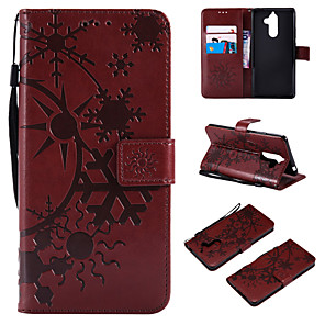 cheap Other Phone Case-Case For Nokia Nokia 9 / Nokia 8 / Nokia 7 Wallet / Card Holder / Flip Full Body Cases Scenery PU Leather / TPU