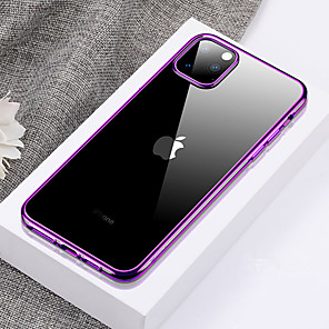 cheap iPhone Cases-Ultra-thin Transparent TPU Phone Case For for iphone 11 Pro / iphone 11 / iphone 11 Pro Max Plating Soft Silicone Full Cover Shockproof