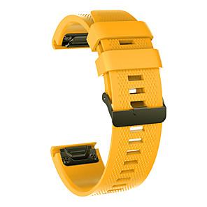 levne Smartwatch Bands-smartwatch band pro fenix 5x / fenix 5x plus / quatix 5x garmin sportovní pásek silikonový náramek