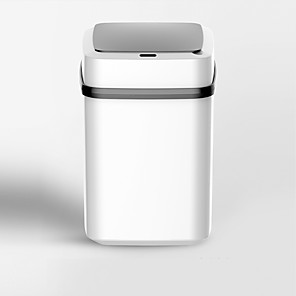 cheap Cleaning Protection-ZDM 10 liters Fully Automatic Waste Bin Creative Intelligent Induction Dustbins with Plastic Inner Bucket and Lid Trash Can