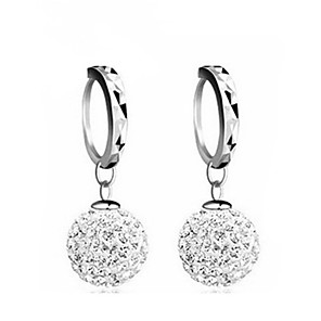 cheap Earrings-Women's AAA Cubic Zirconia Earrings Classic Music Notes Stylish Artistic Luxury Trendy Korean Platinum Plated Gold Plated Earrings Jewelry Silver For Christmas Gift Daily Work Festival 1 Pair