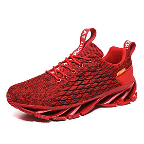 cheap Running Bags-Men's Novelty Shoes Comfort Shoes Light Soles Spring & Summer / Fall & Winter British / Preppy Daily Outdoor Trainers / Athletic Shoes Running Shoes / Walking Shoes Knit / Tissage Volant Breathable