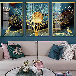 cheap Abstract Paintings-Framed Oil Painting - Still Life Alloy Oil Painting Wall Art
