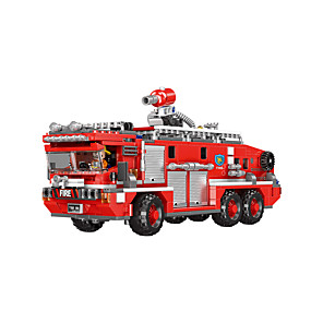 cheap Building Blocks-Building Blocks 720 pcs Fire Engine compatible PP+ABS Legoing Cute All Toy Gift / Kids