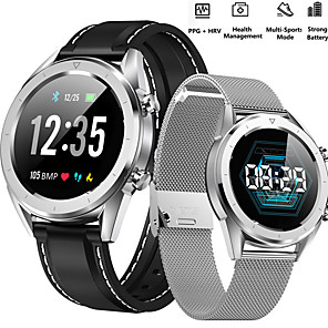 cheap Smartwatches-Women's Digital Watch Digital Formal Style Modern Style Casual Water Resistant / Waterproof PU Leather Black / Silver Digital - Black Silver black / silver